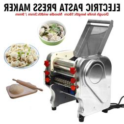 110V Electric Pasta Press Maker 3/ 9mm Noodle Machine Dumpli