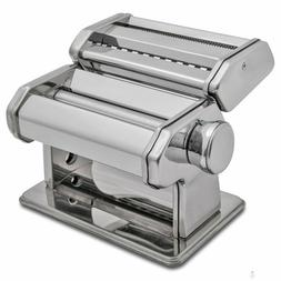 HuiJia 150 Pasta Maker Machine Stainless Steel tagliatelle L