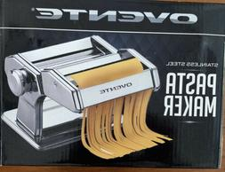 Ovente 150mm Stainless Steel Pasta Maker makes Spaghetti or