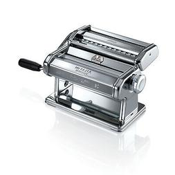Marcato Atlas 180 Pasta Machine With Pasta Cutter, Hand Cran