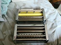 2 OMC Marcato Pasta Makers Vintage Italy Heavy Duty without