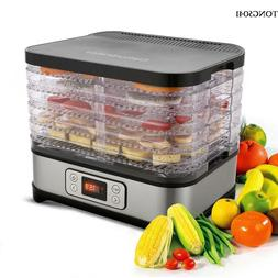 5 Dryer 250W Electric Food Dehydrator Machine Meat Fruit Bee