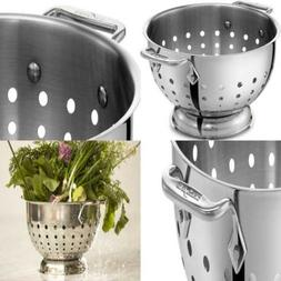 All-Clad 5605C Stainless Steel Dishwasher Safe Colander Kitc