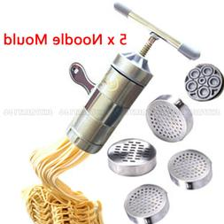 Kitchen Stainless Steel Pasta Noodle Maker Press Spaghetti M