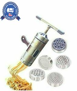 Newcreativetop Stainless Steel Manual Noodles Press Machine
