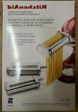 *BRAND NEW* KitchenAid KSMPRA 3 Piece Pasta Roller & Cutter