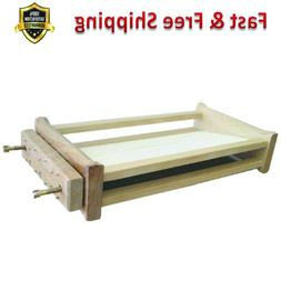 Chitarra Pasta Cutter Natural Wood Two Position Cutting Past
