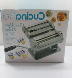 CUCINAPRO Classic Pasta Maker Deluxe Manual Homemade Spaghet
