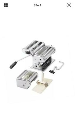 Deluxe  Pasta, Ravioli Maker and Cutter, Stainless Steel