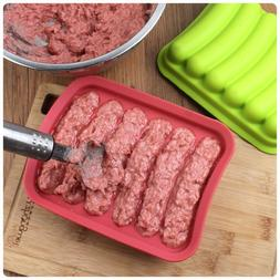 Durable <font><b>Homemade</b></font> Sausage Mold Silicone H