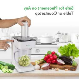 Electric Food Spiralizer Slicer Chopper - 3-in-1 Vegetable P