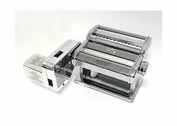 Atlas Electric Pasta Machine, 180-Millimeter Silver with Mot