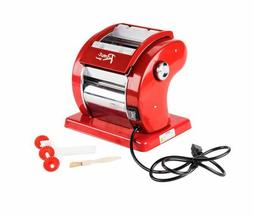 Electric Pasta Maker Roller Machine, Spaghetti, Fettuccine,