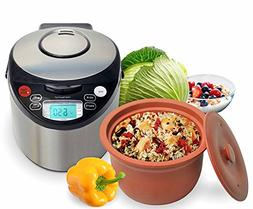 Essenergy VM7900-8 Smart Organic Multicooker - Oval, 8 cup -