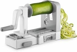 Gourmia GSS9615 Foldable 5 Blade Spiralizer Vegetable Slicer