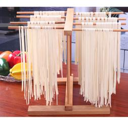 Home Made Pasta Wooden Drying Rack Space Saver Sturdy Kitche