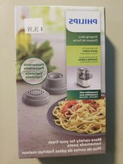 Philips HR2480/00 Compact Pasta Maker 2-in-1 accessory shape