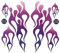 KA Mixer Decal Cover Kit Purple Mix Single Sticker Flame Kit