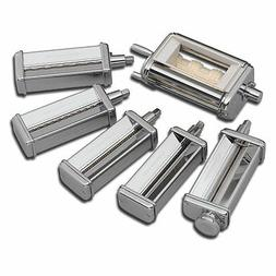KitchenAid KPEX 6-PC Set Pasta Roller KSMPCA Cutters KSMPRA