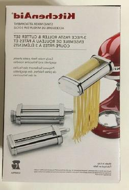 KitchenAid KSMPRA 3-Piece Pasta Roller and Cutter Set, Brand