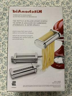 ksmpra stand mixer attachment 3 piece pasta