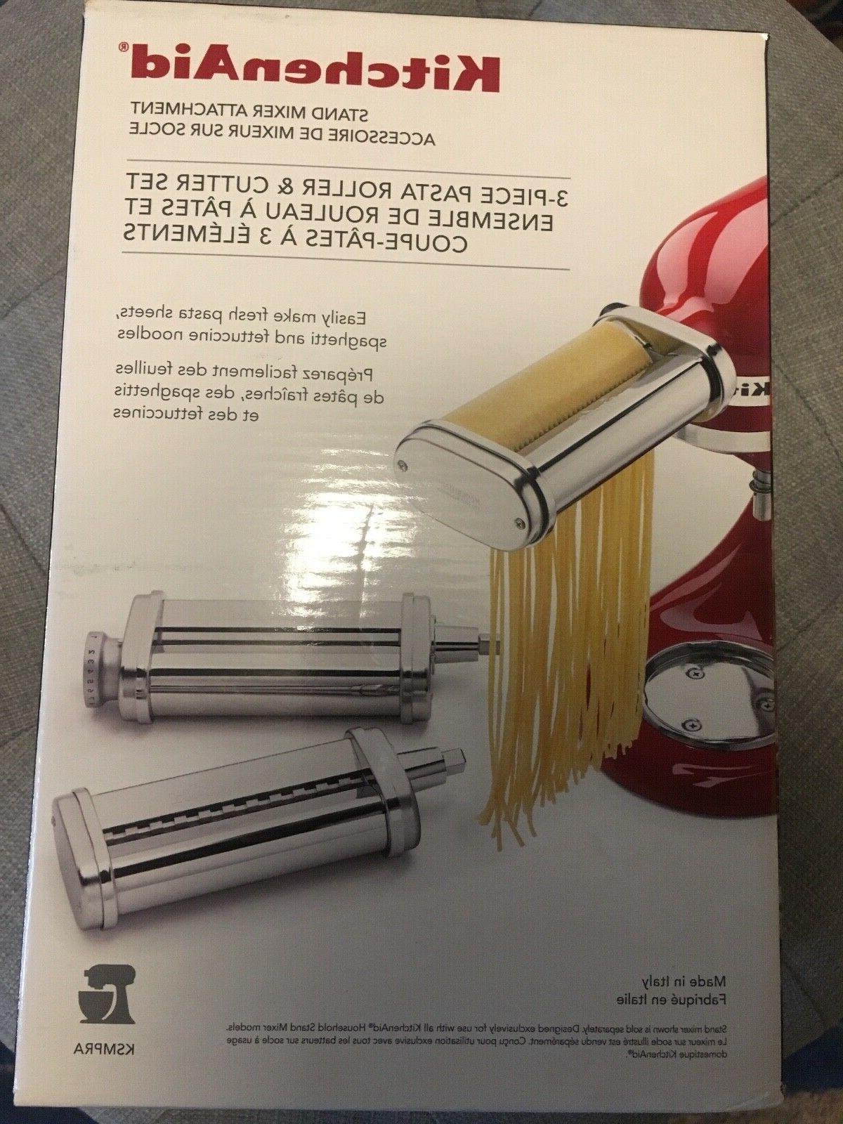 3 pc pasta roller and cutter set