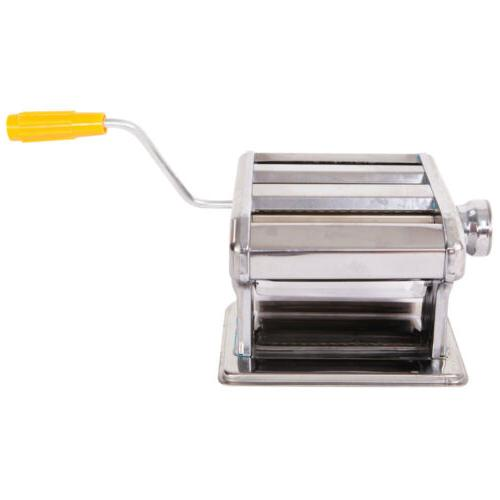 """7"""" Pasta Maker Machine Noodle Stainless"""
