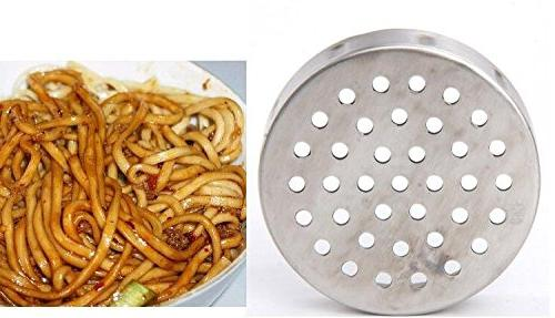 Newcreativetop Steel Noodles Press Maker with Mould