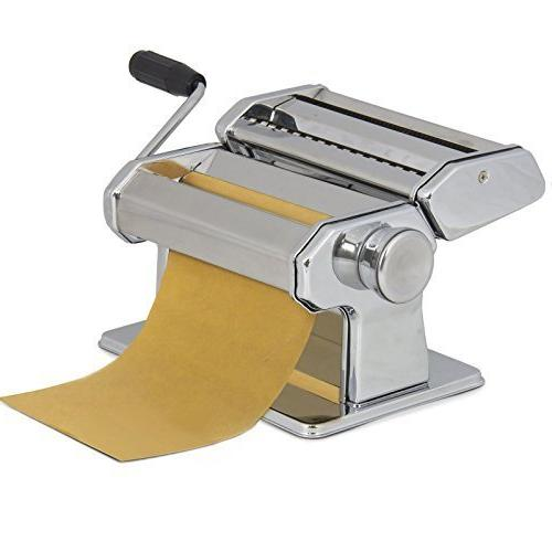 Pasta Maker Roller Machine 7inches Dough Making Fresh Noodle