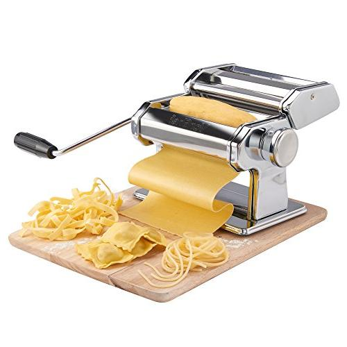 VonShef Pasta Cut Press Table Top Clamp Pasta Measuring Tool