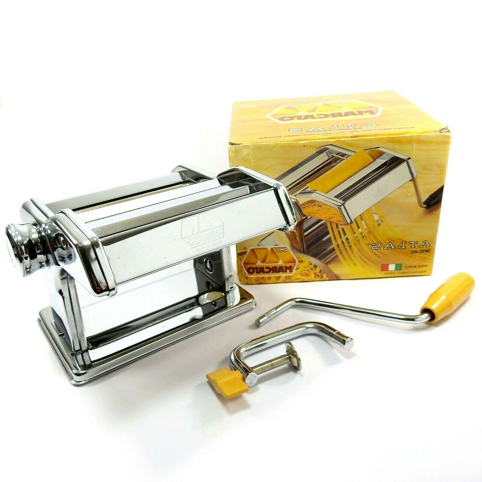 Marcato Atlas 150 Manual Noodle Pasta Maker 8320 Used