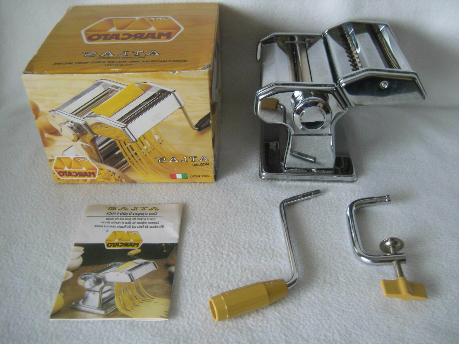 atlas 150 manual noodle pasta maker model