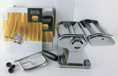 atlas 150 wellness pasta maker stainless finish