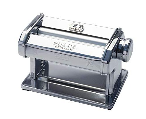 Marcato 8340 Atlas Pasta Dough Made with Crank Instructions,