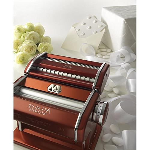 Marcato Made in Includes Pasta Crank, and Red