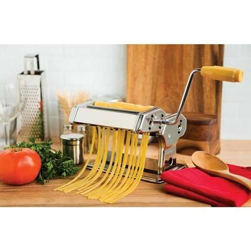 chrome plated stainless steel pasta silver machine