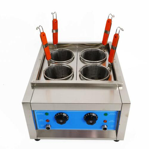 4KW Commercial Noodle Cooker Stainless Electric Pasta Cookin