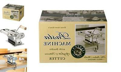 fantes pasta machine chromed steel with wood