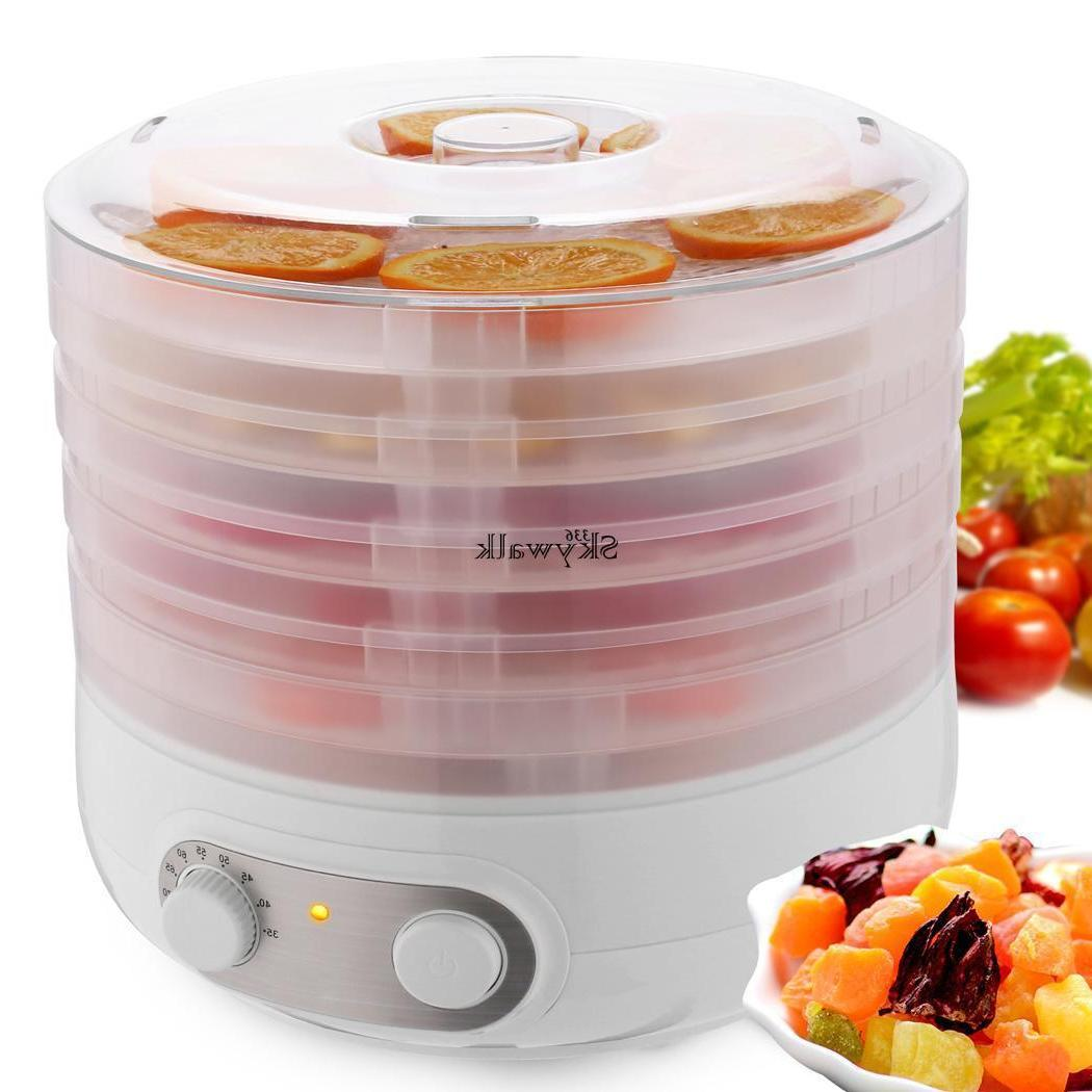 Food Fruit Dryer Electric 5 Food W/Accessories