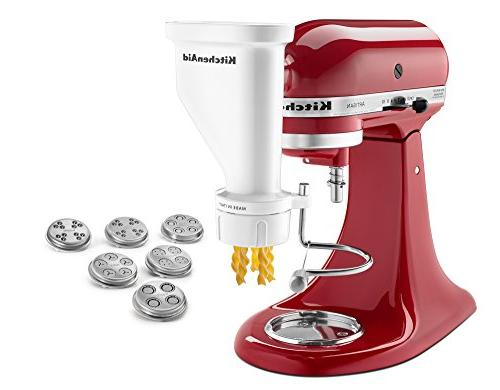 KitchenAid KSMPEXTA Gourmet Pasta Press Attachment with 6