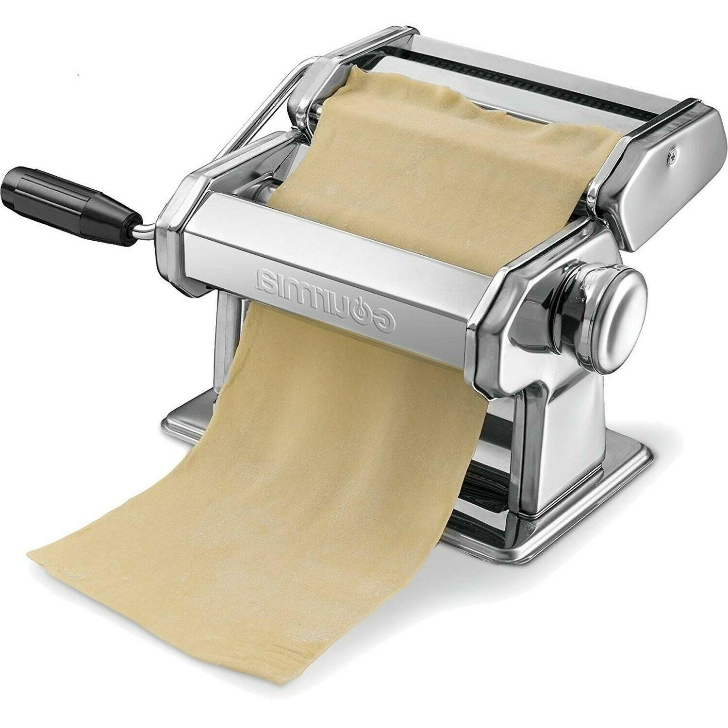 maker pasta spaghetti roller machine slicer stainless