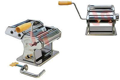 manual 7 stainless steel pasta maker crank
