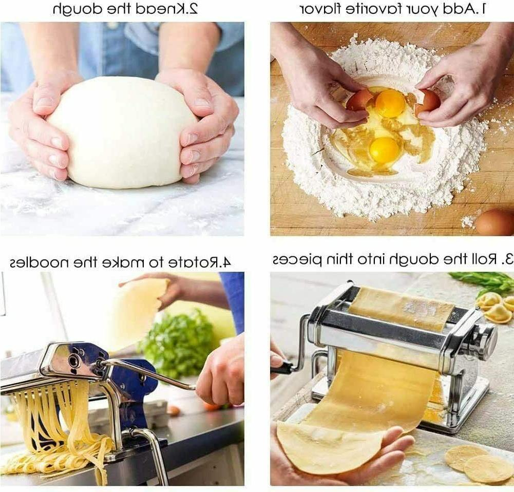 Pasta Roller Manual Noodles Makers with