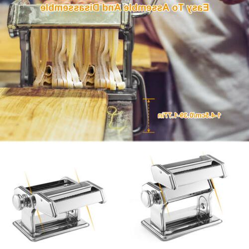 Stainless Pasta Makers with Adjustable