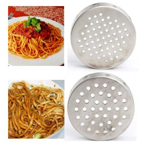 Stainless Manual Press Pasta Maker with 5