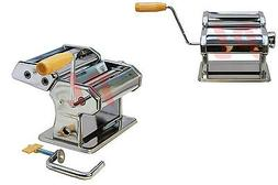 Manual 7'' Stainless Steel Pasta Maker Crank Machine 3 Diffe