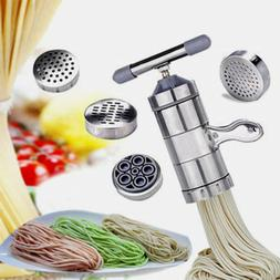 Manual Noodle Makers Pasta Maker Machine Stainless Steel Pas