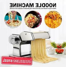 manual pasta roller cutter noodles maker machine
