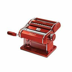 Marcato Atlas 150 Machine, Made in Italy, Red, Includes Past
