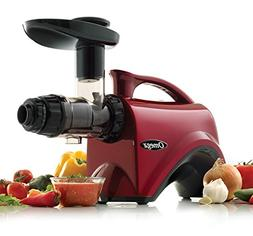 Omega NC800HDR Red Slow Speed Nutrition Center Masticating J